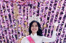 Do Thi Ha coronada Miss Vietnam 2020