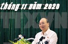 Primer ministro se reúne con electores en Hai Phong
