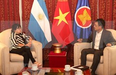 Vietnam y Argentina impulsan relaciones de cooperación