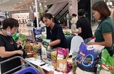Presentan productos agrícolas descatados en centro comercial en Hanoi