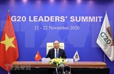 Realza Vietnam en la Cumbre del G20 espíritu cohesivo y adaptativo de la ASEAN en lucha antiepidémica