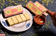 Pastel de judías verdes de provincia vietnamita gana favoritismo de clientes