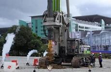 Inician construcción de carretera que conecta Malasia y Singapur