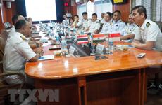 Comienzan ejercicios navales conjuntos de India, Singapur y Tailandia