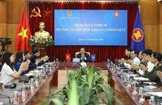 ASEAN busca promover el papel de los jóvenes en la conectividad comunitaria