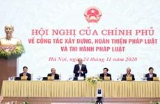 Primer ministro de Vietnam insta perfeccionar proceso de elaboración de leyes