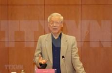 Líder partidista vietnamita urge a acelerar la lucha anticorrupción