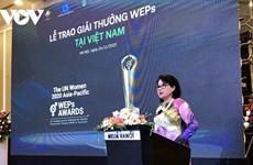 Empresas vietnamitas reciben premio de empoderamiento económico para mujeres de Asia-Pacífico