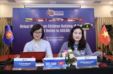 ASEAN 2020: Efectúan conferencia sobre protección infantil frente al acoso en las escuelas e Internet
