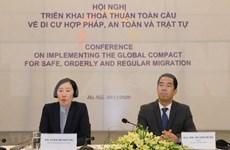 Debaten en Vietnam despliegue de pacto mundial sobre migración