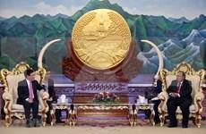 Vietnam y Laos fortalecen relaciones diplomáticas