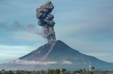 Indonesia: Miles de evacuados por erupción de volcán Ili Lewotolok