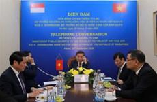 Vietnam y Singapur refuerzan cooperación en asuntos judiciales
