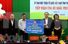 Entregan paquetes de ayuda a vietnamitas afectados por inundaciones