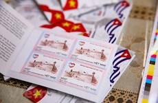 Emiten colección conjunta de estampillas postales Vietnam-Cuba