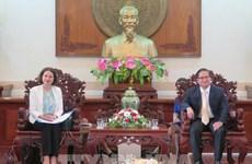 Provincia vietnamita robustece cooperación con Australia en educación e infraestructura
