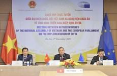 Impulsan cooperación interparlamentaria para implementación de tratado comercial Vietnam-UE