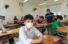 Urgen a fortalecer medidas de prevención del COVID-19 en escuelas de Vietnam
