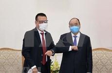 Recibe premier de Vietnam a dirigente de grupo tailandés SCG
