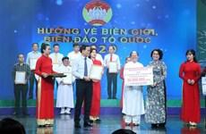Recaudan casi 1,5 millones de dólares a favor del mar e islas de Vietnam