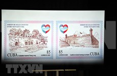 Cancelan Vietnam y Cuba sello postal por 60 años de nexos ofciales