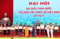 Finaliza el segundo Congreso Nacional de Minorías Étnicas de Vietnam
