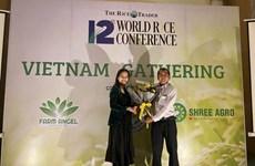 Gana variedad de arroz vietnamita premio en concurso internacional
