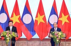 Primer ministro laosiano concluye visita a Vietnam