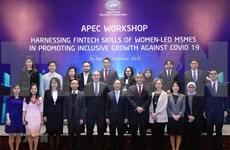 APEC impulsa recuperación de empresas lideradas por mujeres