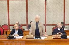 Exhortan a perfeccionar documentos para el XIII Congreso Nacional del Partido Comunista de Vietnam