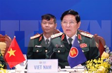 Inauguran Reunión de Ministros de Defensa de la ASEAN