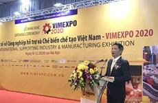 Inauguran Exposición Internacional de industria auxiliar y manufacturera de Vietnam