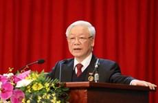 Máximo dirigente de Vietnam pide renovar trabajo de emulación patriótica
