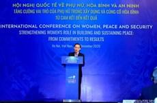 Vietnam promueve papel de la mujer en construcción de paz