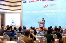 Celebran décimo aniversario de Reunión ampliada de Ministros de Defensa de la ASEAN