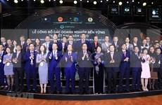 Anuncian en Vietnam lista de 100 mejores empresas sostenibles en 2020