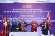 Vietnam y el Reino Unido concluyen negociaciones para UKVFTA
