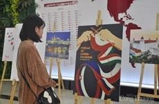Exposición divulga entre público de Hanoi imagen del Grupo de Visegrado