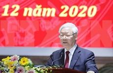 Orienta máximo líder de Vietnam lucha contra la corrupción