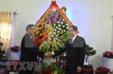 Dirigente del Frente de Patria de Vietnam felicita a católicos en ocasión de Navidad