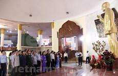 Diplomáticos vietnamitas rinden tributo al extinto presidente laosiano Kaysone Phomvihane