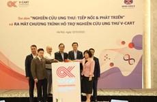 Lanzan Vietnam programa para respaldar tratamiento de cáncer