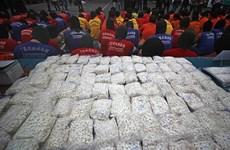 Malasia decomisa carga de droga sin precedentes