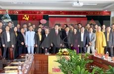 Felicitan a comunidades católicas en provincias vietnamitas por motivo de Navidad