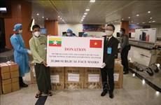 Vietnam continúa apoyando a Myanmar en la lucha contra COVID-19