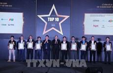 Reconocen a 10 principales empresas de tecnología de la información de Vietnam