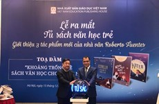 Obras literarias infantiles de Chile captan atención de lectores vietnamitas