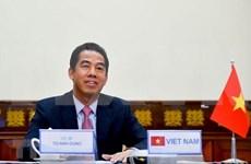 Vietnam y UE abogan por cooperación en recuperación pospandémica