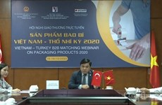 Exportadores vietnamitas de embalaje buscan acceso a mercado de Turquía