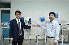 Provincia vietnamita recibe equipos médicos sudcoreanos